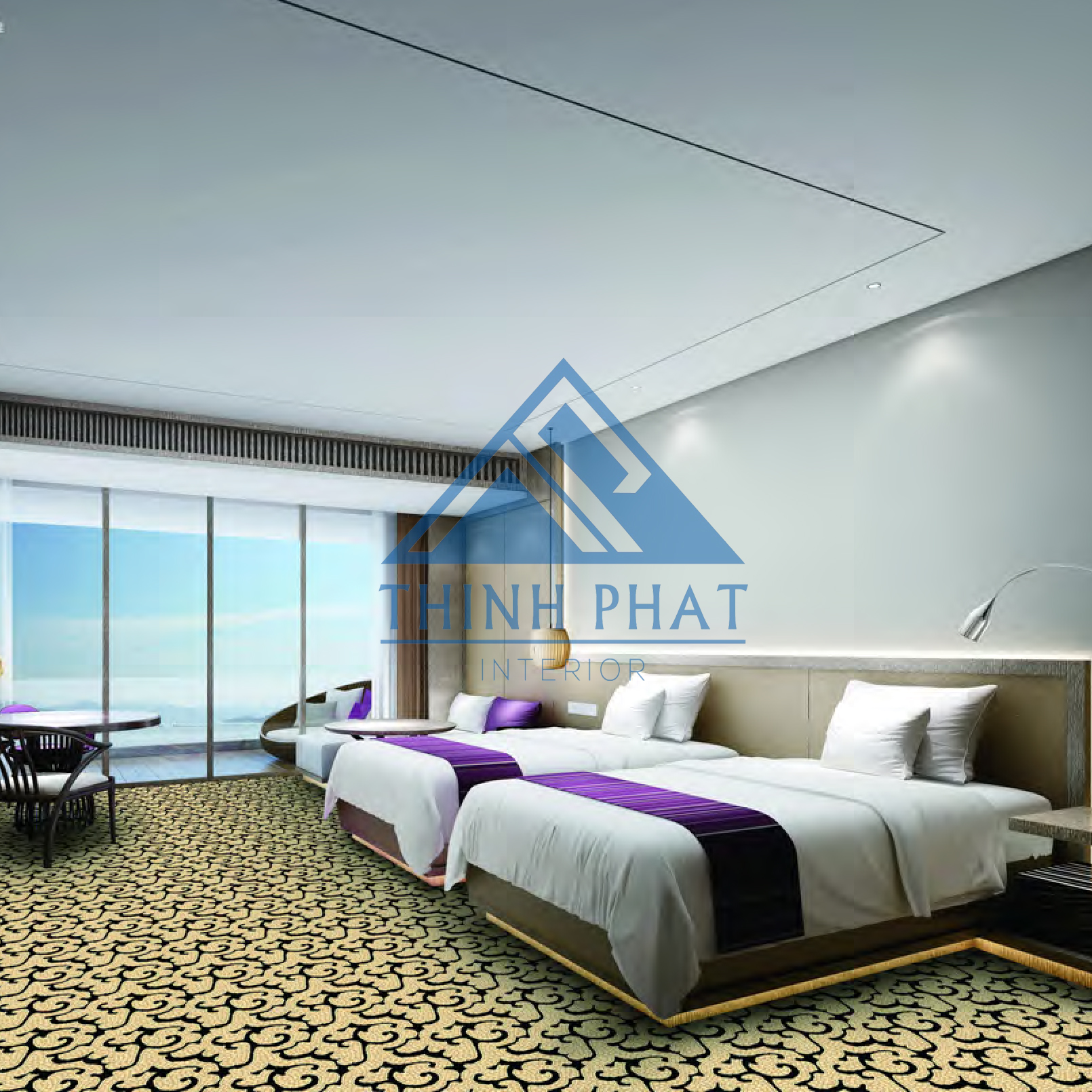 Lựa chọn thảm trải sàn cho phòng ngủ