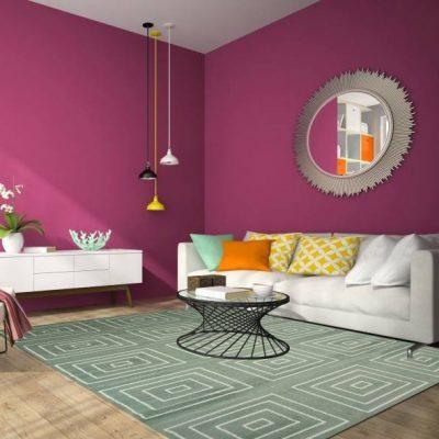 Vai trò của thảm phòng khách đẹp cho không gian
