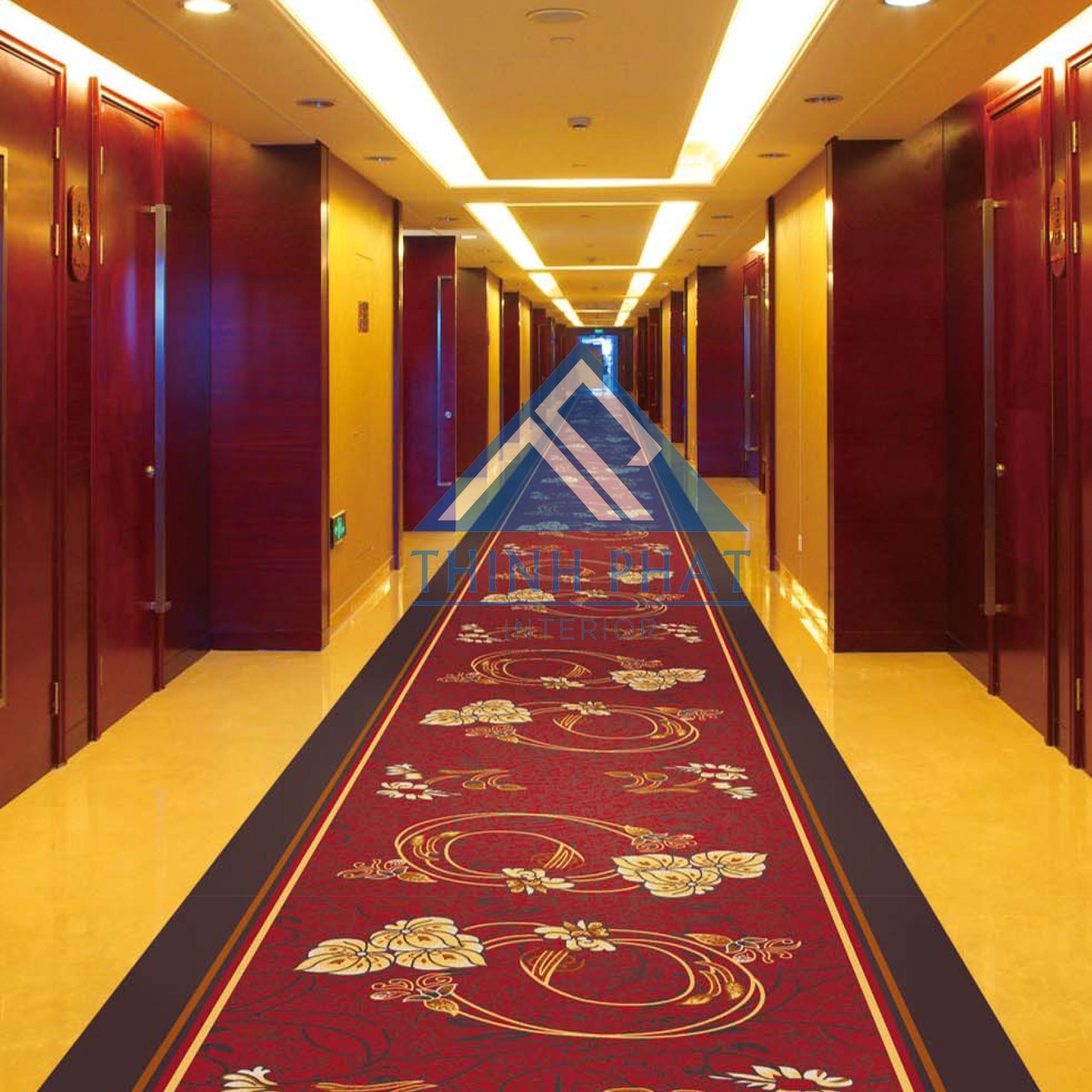 Mẫu thảm trải sàn khách sạn